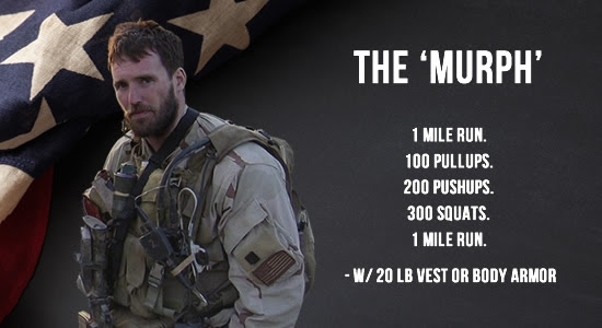 CrossFit From Home Workout | Murph Hero Workout Video