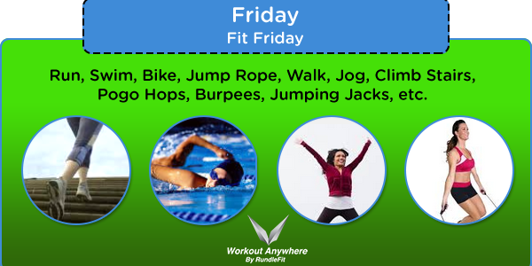 Fit Friday by Workout Anywhere