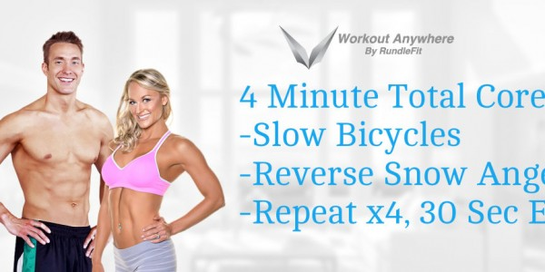 Four Minute Outdoor Total Core - Workout Anywhere