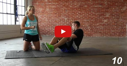 Four Minute Total Core Workout Anywhere
