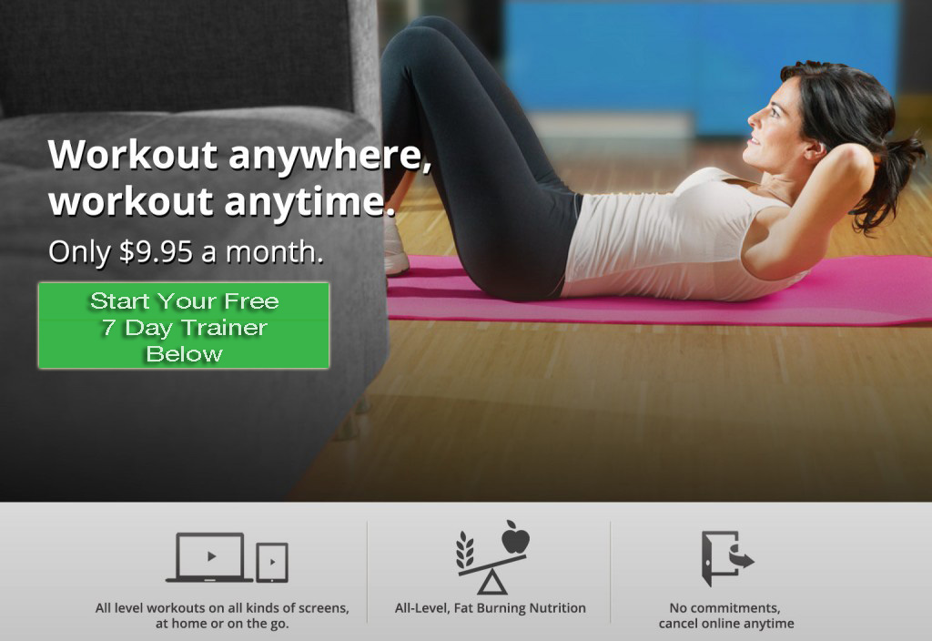 Free 7 Day Trainer - Workout Anywhere