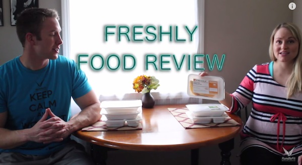 Freshly Food Review - Workout Anywhere