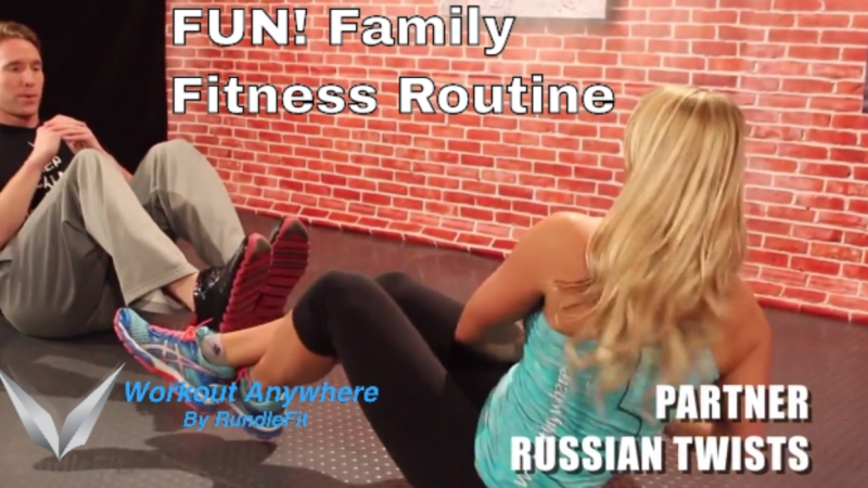 Fun Family Fitness Home Workout - Workout Anywhere