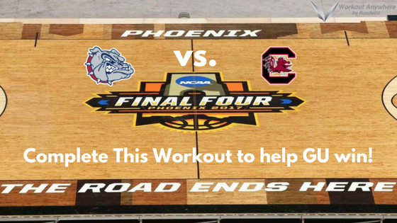Gonzaga Workout: Final Four Edition