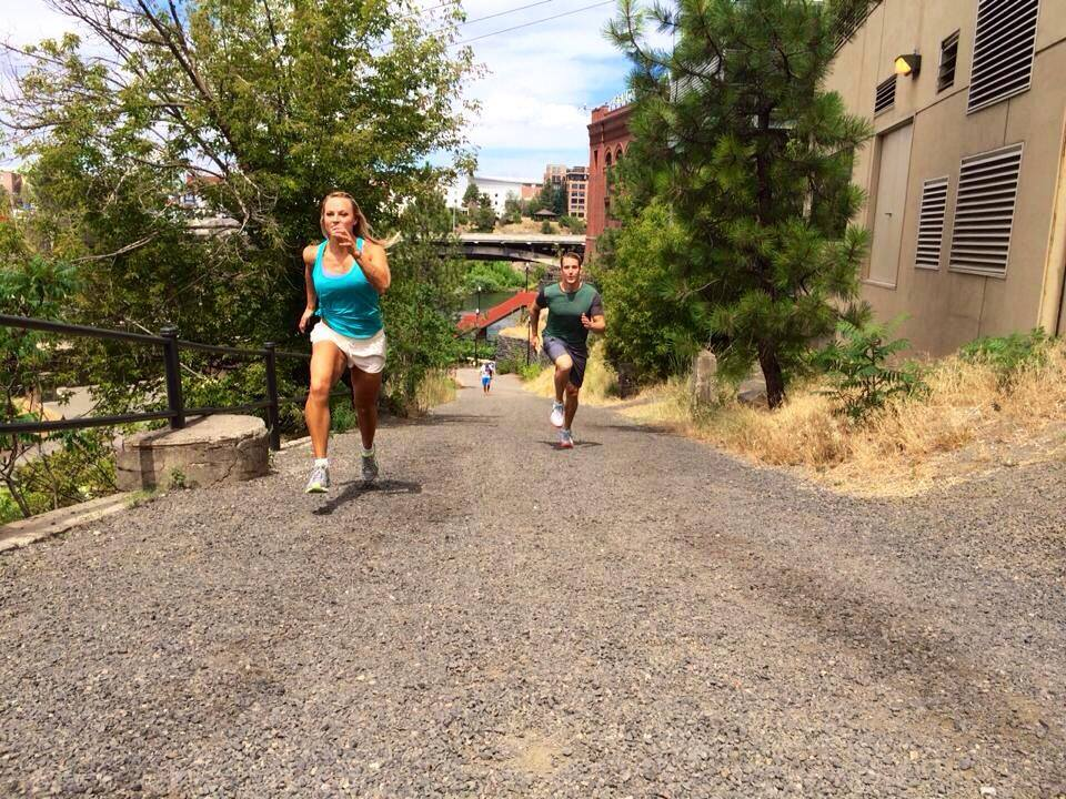 Hill Sprints With Workout Anywhere
