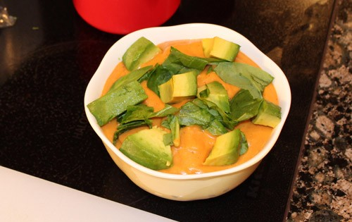 Jessica's Cleaner, Leaner Kitchen: Sweet Potato Soup