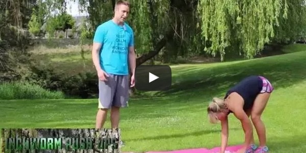 Inchworm Push Up - Workout Anywhere