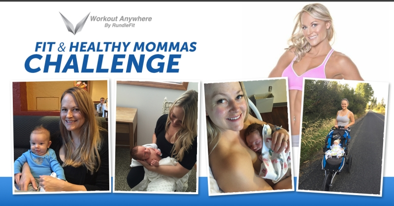 Jessica's Fit & Healthy New Mom's Challenge