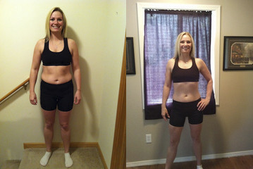 Kristie Before And After - Workout Anywhere