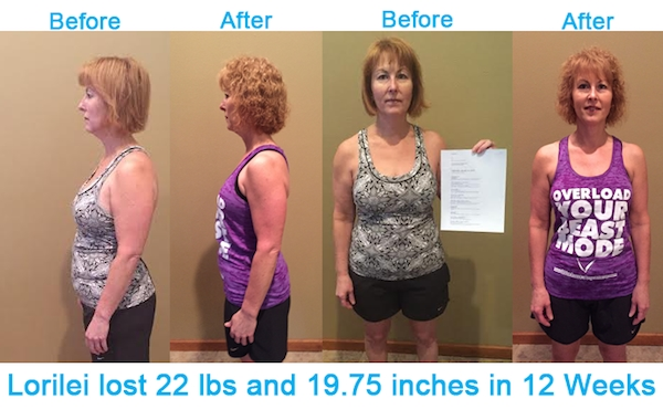 Workout Anywhere's Before and After Testimonial with Lorilei