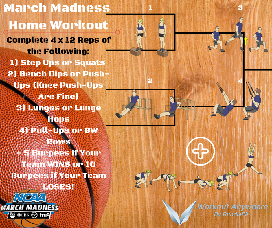 March Madness 2016 Home Workout