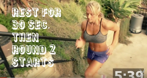 20 Minute Stair Workout You Can Do Anywhere