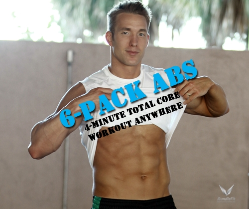 4-Minute Abs & Total Core | 6 Pack Abs Workout | Workout Anywhere