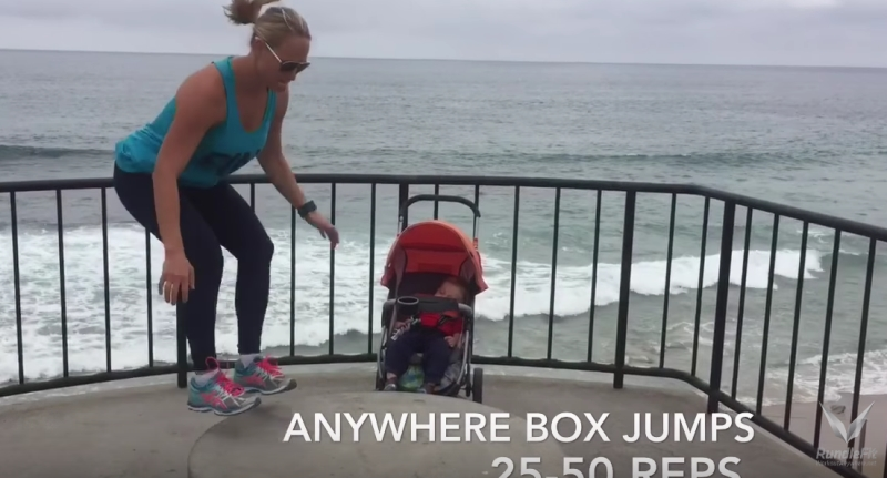 Optimized-Box Jumps Workout Anywhere Style