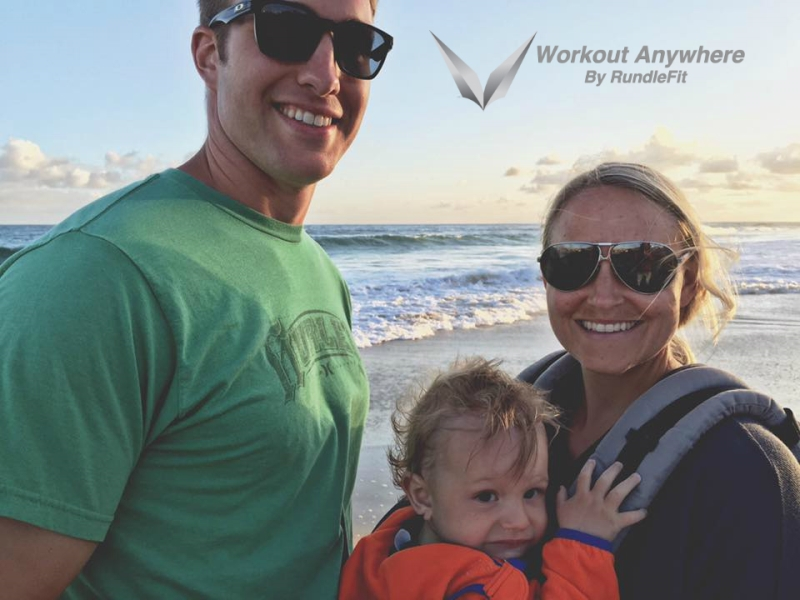 RundleFit Family Vacation - Upper Body Hotel Room Workout