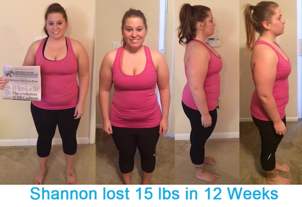 Shannon's Before and After Success Story w/ Workout Anywhere