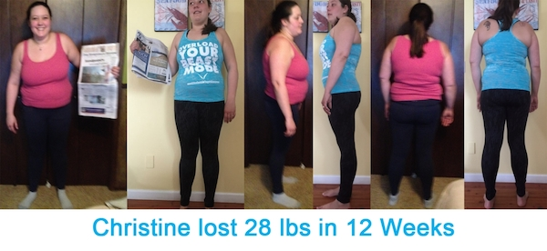 Christine's Before and After Success Story With Workout Anywhere
