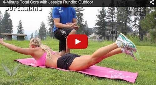 4-Minute At-Home & Outdoor Ab Workout with No Equipment
