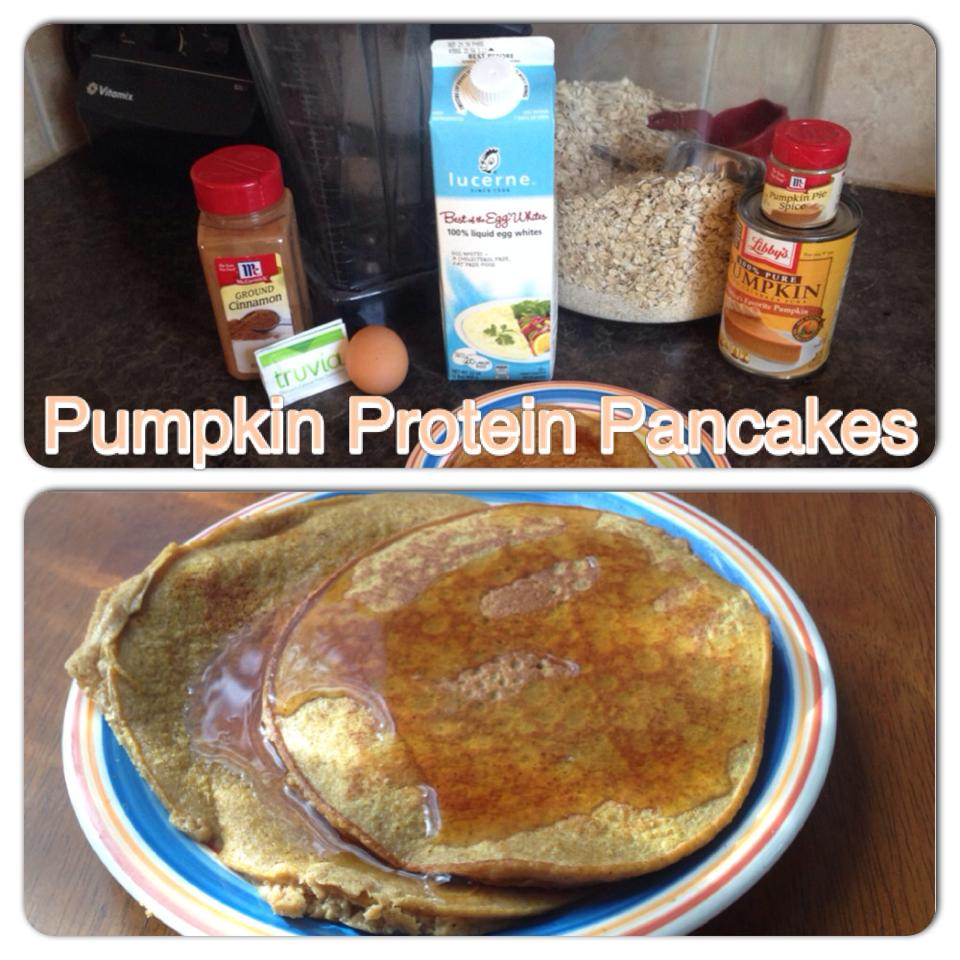 Pumpkin Protein Pancakes - Workout Anywhere