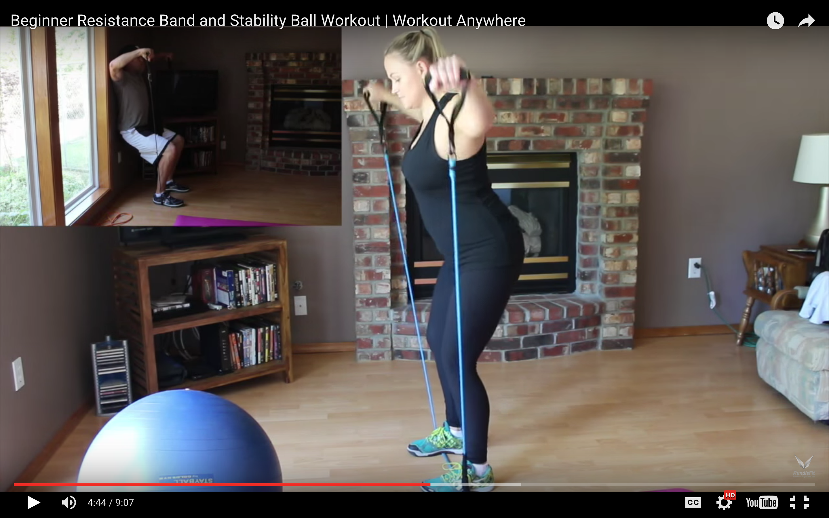Resistance Band Lateral Shoulder Raise Exercise