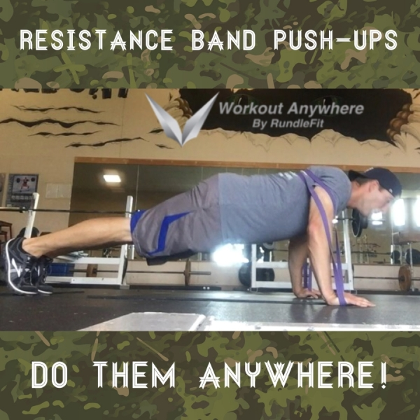 How To Perform Resistance Band Push Ups