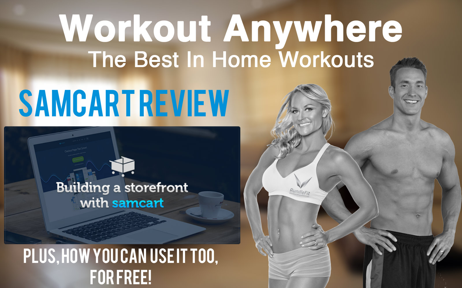 How SamCart Helped a Small Online Fitness Business Grow! – SamCart Review