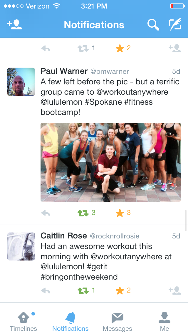 Spokane Business Boot Camp With Workout Anywhere