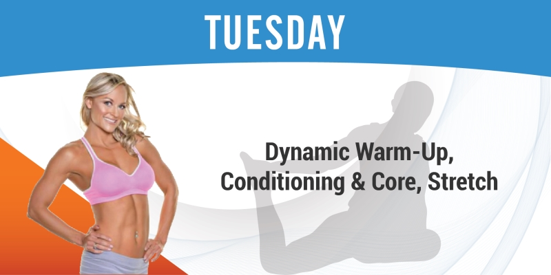 Turn it Up Tuesday: Core and Cardio