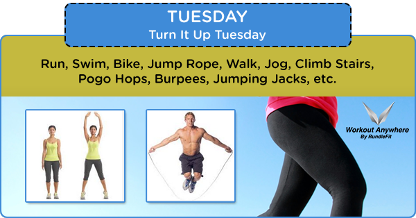 Turn It Up Tuesday Core & Cardio