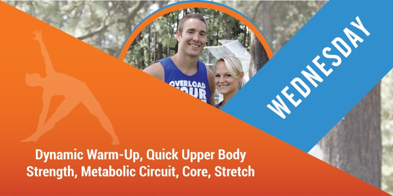 New Workout Anywhere Wednesday
