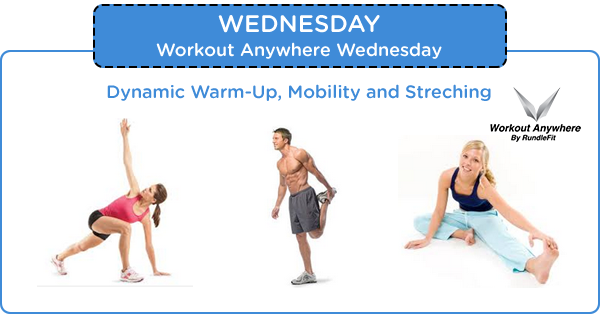 Day 8 – Workout Anywhere of The Day