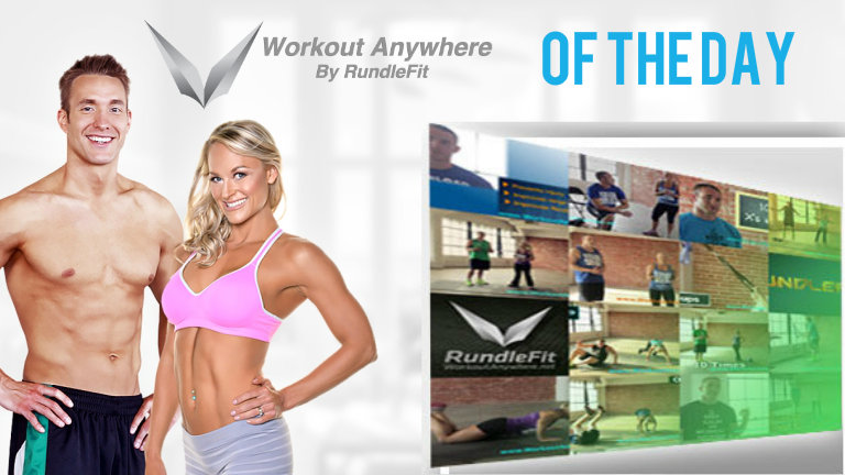 Workout Anywhere of The Day – July 15, 2016
