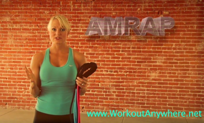 Workout Anywhere's AMRAP #1