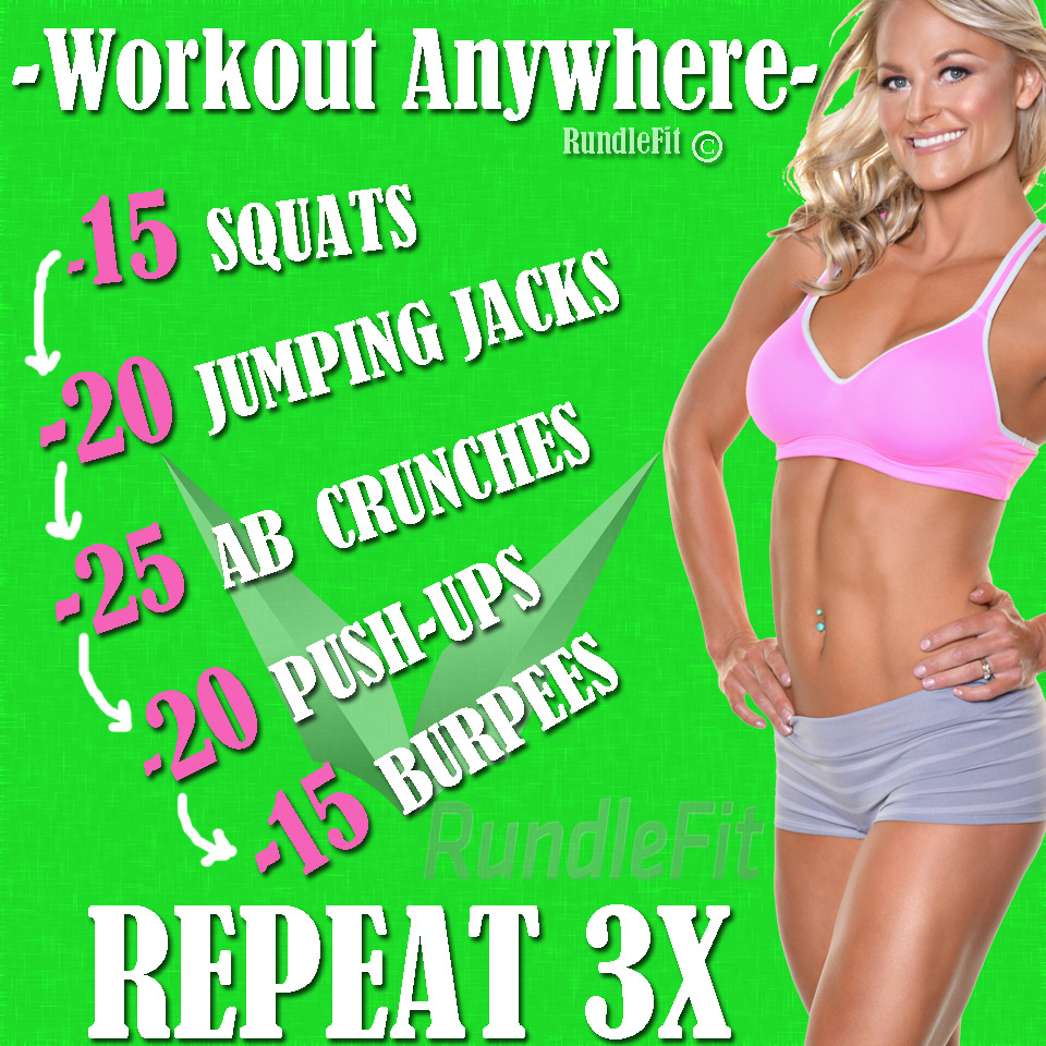 The Ultimate Full Body Anywhere Workout Routine