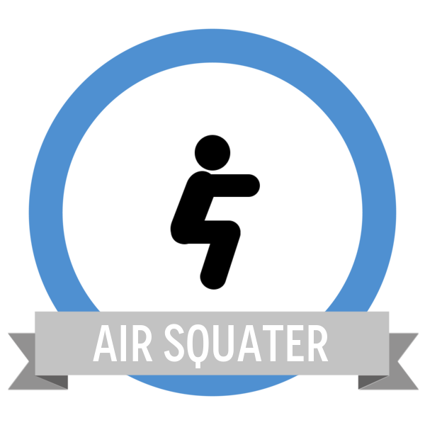 Air Squat Challenge - Workout Anywhere