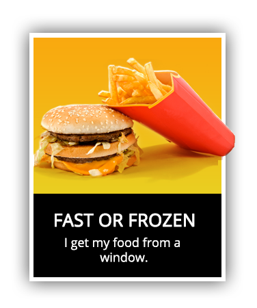 Fast or Frozen