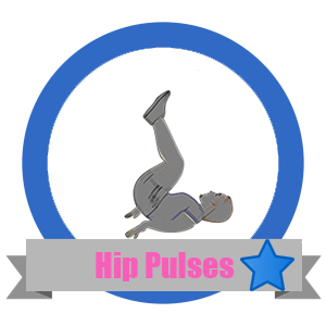 Hip Pulse Fit Challenge Badge - Workout Anywhere