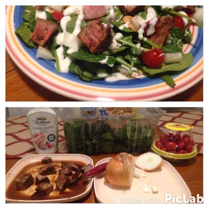 Did Somebody Say Steak Salad - Workout Anywhere