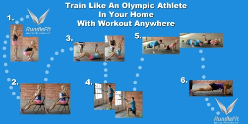 The Sochi Home Workout: Learn to Train Like an Olympian From Home
