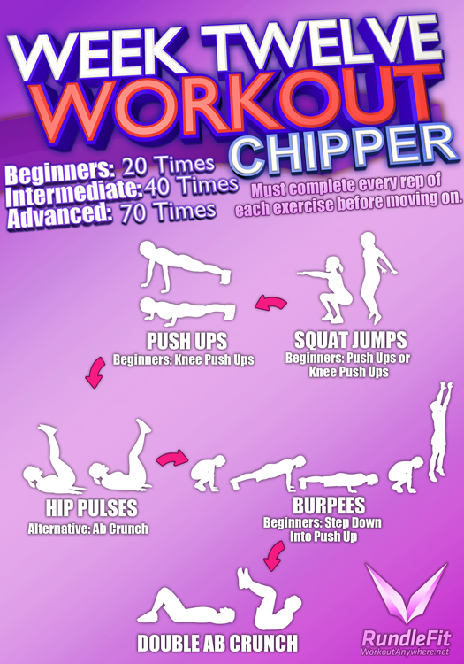 Chipper #2 Workout